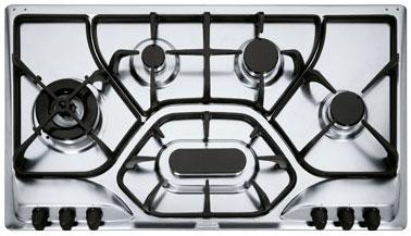 Plaque de cuisson 6 feux plaque cuisson 6 feu sur for Table cuisson mixte gaz induction grande largeur