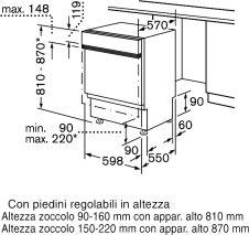 Bosch SMI50E05EU - Spülmaschine - Eingebaut