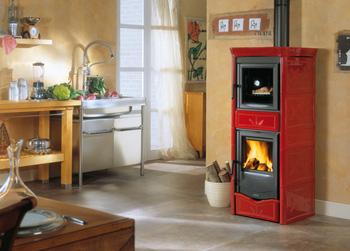 La nordica termo nicoletta con forno bordeaux 7117350 - Stufa a combustibile liquido opinioni ...