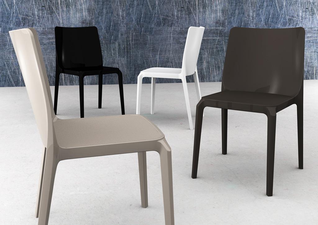 4 blitz sedia design pedrali policarbonato trasparente for Sedia design ebay