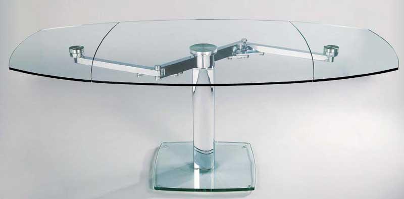 Asso elina prezzi offerte e promozioni for Tavolo cristallo allungabile calligaris