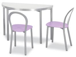 Connubia Calligaris Clip tavolo rotondo / consolle - Tavoli